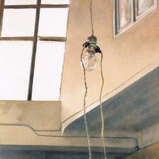 BOMBILLA. Óleo sobre tabla, 67 x 59 cm, 1965.