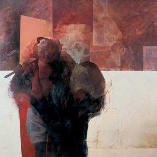 IL RITORNO. Óleo sobre tabla,160 x 200 cm, 1969.
