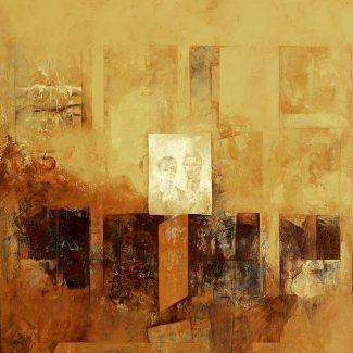 POMPEYANO. Óleo sobre tela, 150 x 150 cm, 1981.