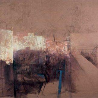EAST VILLAGE I. Óleo sobre tela, 200 x 280 cm, 1988.