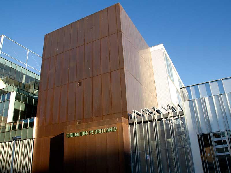 Fachada principal museo