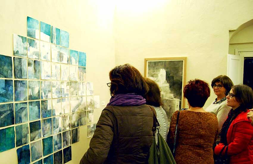 Inauguración exposición Matera